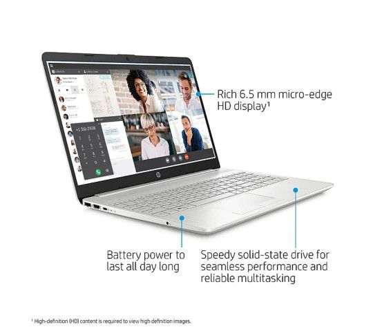 "HP 15.6"" Notebook, Intel i5, 8GB Memory, 256GB SSD, Windows 10"