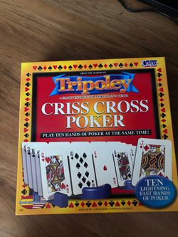Cross Cross Poker board game Thumbnail