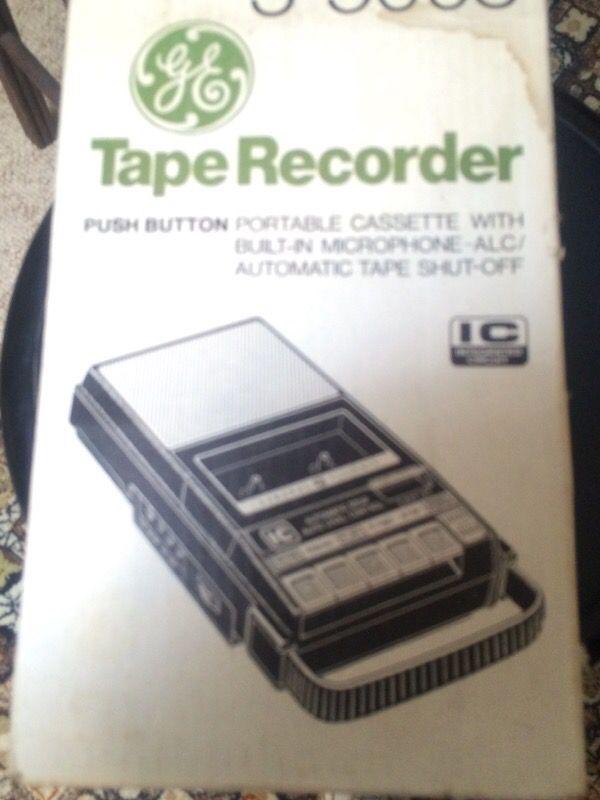 Cassette recorder- player