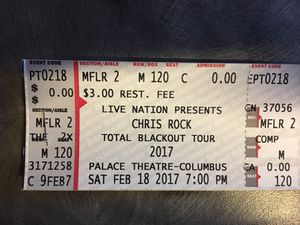 CHRIS ROCK TICKETS $115 each for Sale in Columbus, OH