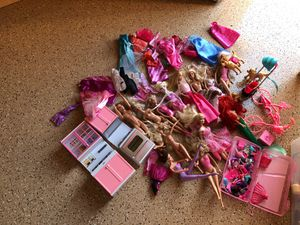 Barbie lot of 12 dolls And accessories for Sale in San Diego, CA