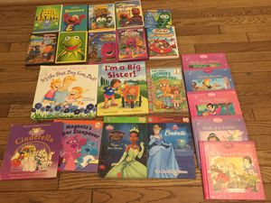 Kids DVDs and books collection for Sale in Lake Ridge, VA