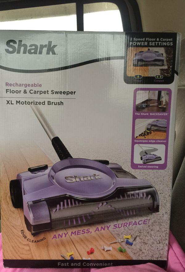 Shark Rechargeable Floor Carpet Sweeper For Sale In