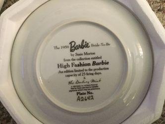 Barbie Plate Thumbnail