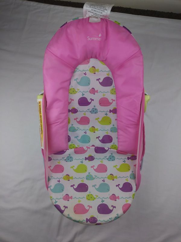 Baby Bath Seat Summer Pink for Sale in Alachua, FL - OfferUp