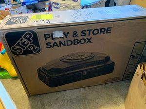 Photo Brand new sand box