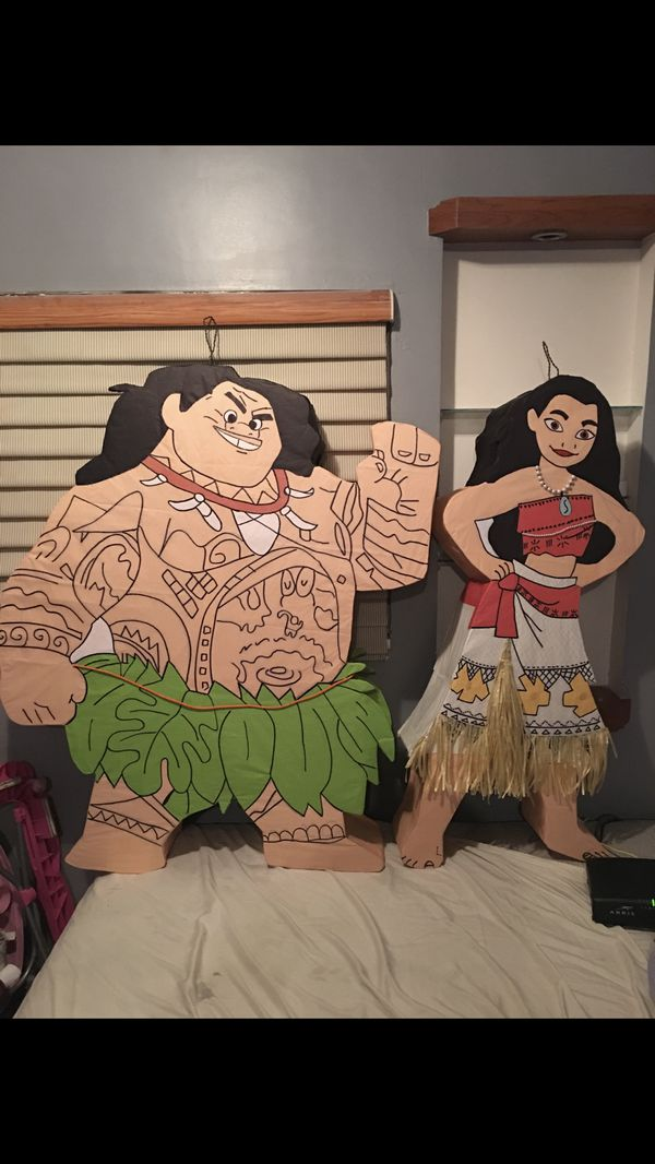 Maui and Moana piñatas for Sale in San Diego, CA - OfferUp