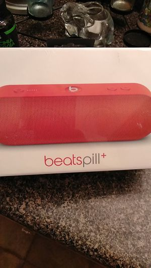 Beats pill+ Special addition (product)RED for Sale in Durham, NC