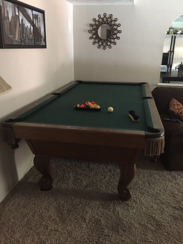 Slate Murray Amp Sons Co Inc Pool Table For Sale In Fort
