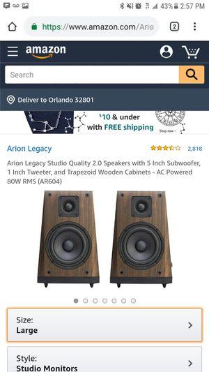 Studio Monitors 4 Speakers For Sale In Lutz