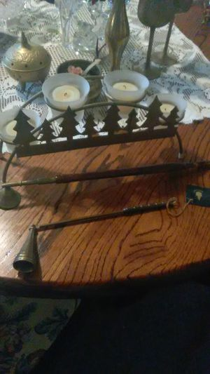 Brass and glass for Sale in Barryton, MI