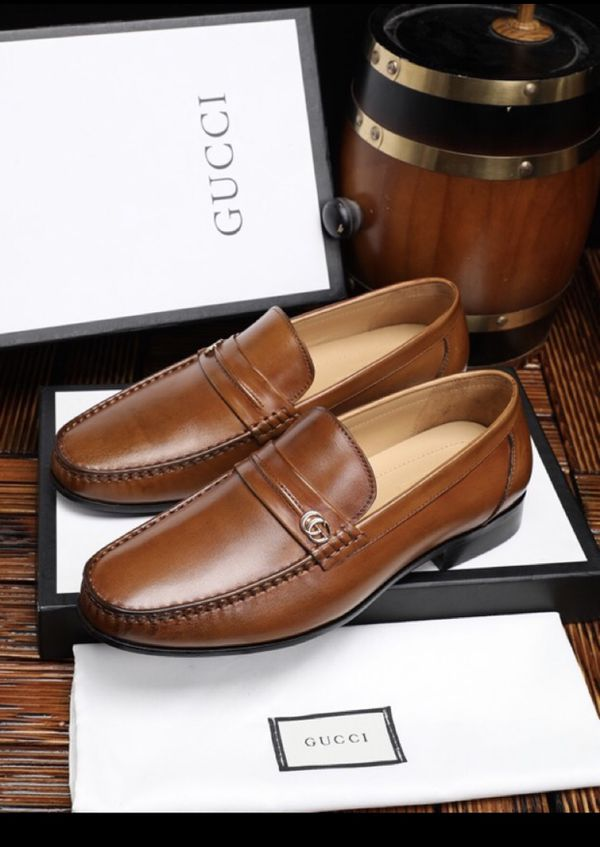 64182d6155b GUCCI Donnie Web Leather Loafer for Sale in Indianapolis