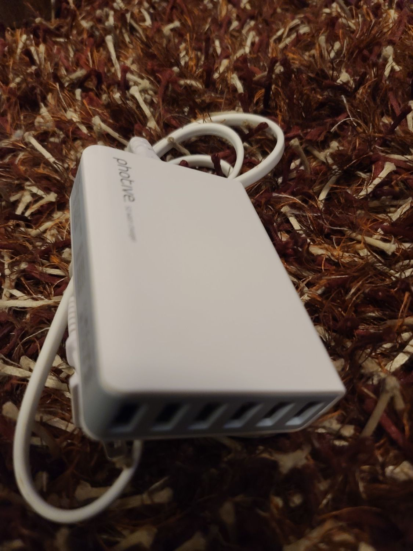 6 port USB charge bank