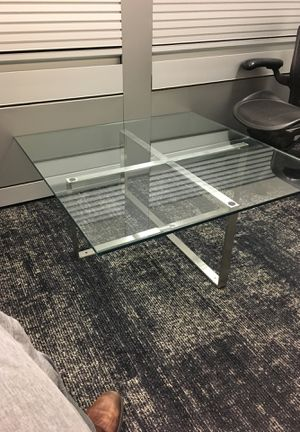 Glass coffee table - FREE obo for Sale in San Francisco, CA