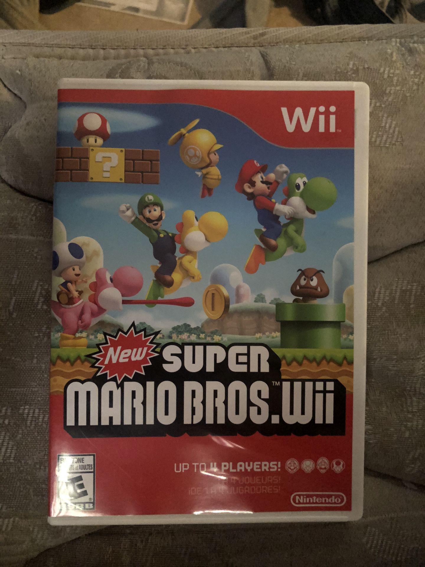 New super Mario bro's Wii