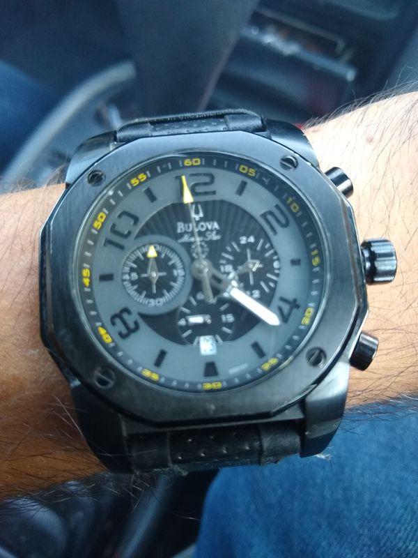 Bulova watch black for Sale in San Marcos, CA - OfferUp
