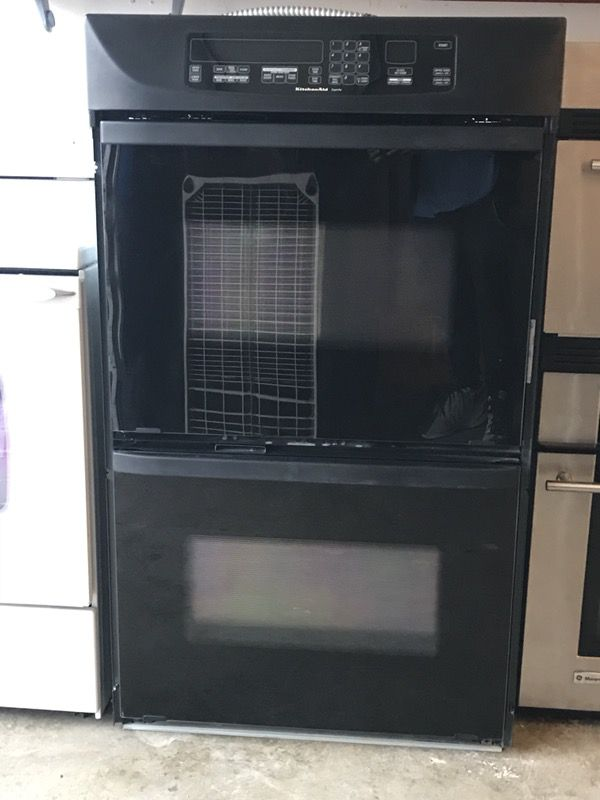 "27"" Kitchenaid Superba Double Wall Oven + Drawer Warmer"