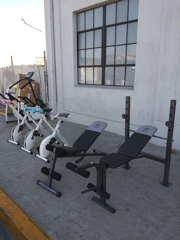 Carzy Price Golds Gym Xr5 9 Slant Xr6 1 Weight Bench Press