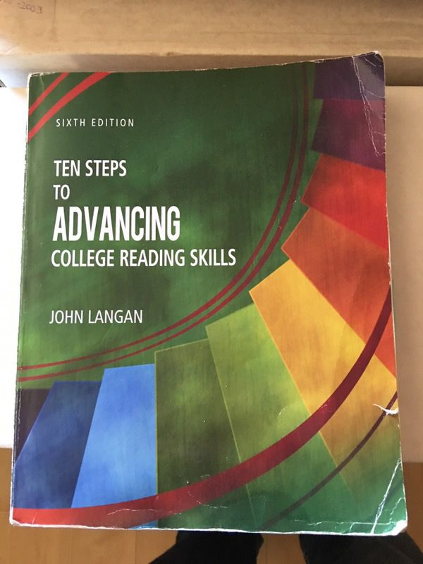 advancing college reading skills