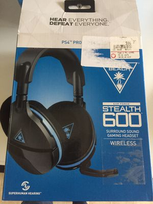 Turtle beach stealth 600 wireless sound gaming headset for Sale in Los Angeles, CA