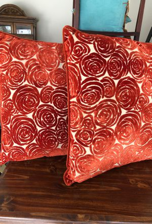 Photo Two very large pillows from Pier One