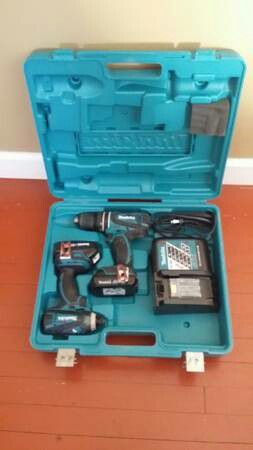 Set of 18 volts makita new never used $300 for Sale in Chillum, MD