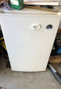 New mini fridge. Bought it for my RV and it didn't fit. Never used it and just sitting in my garage. Thumbnail
