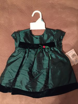 new baby girl christmas dress size 3 6 months for sale in kernersville nc