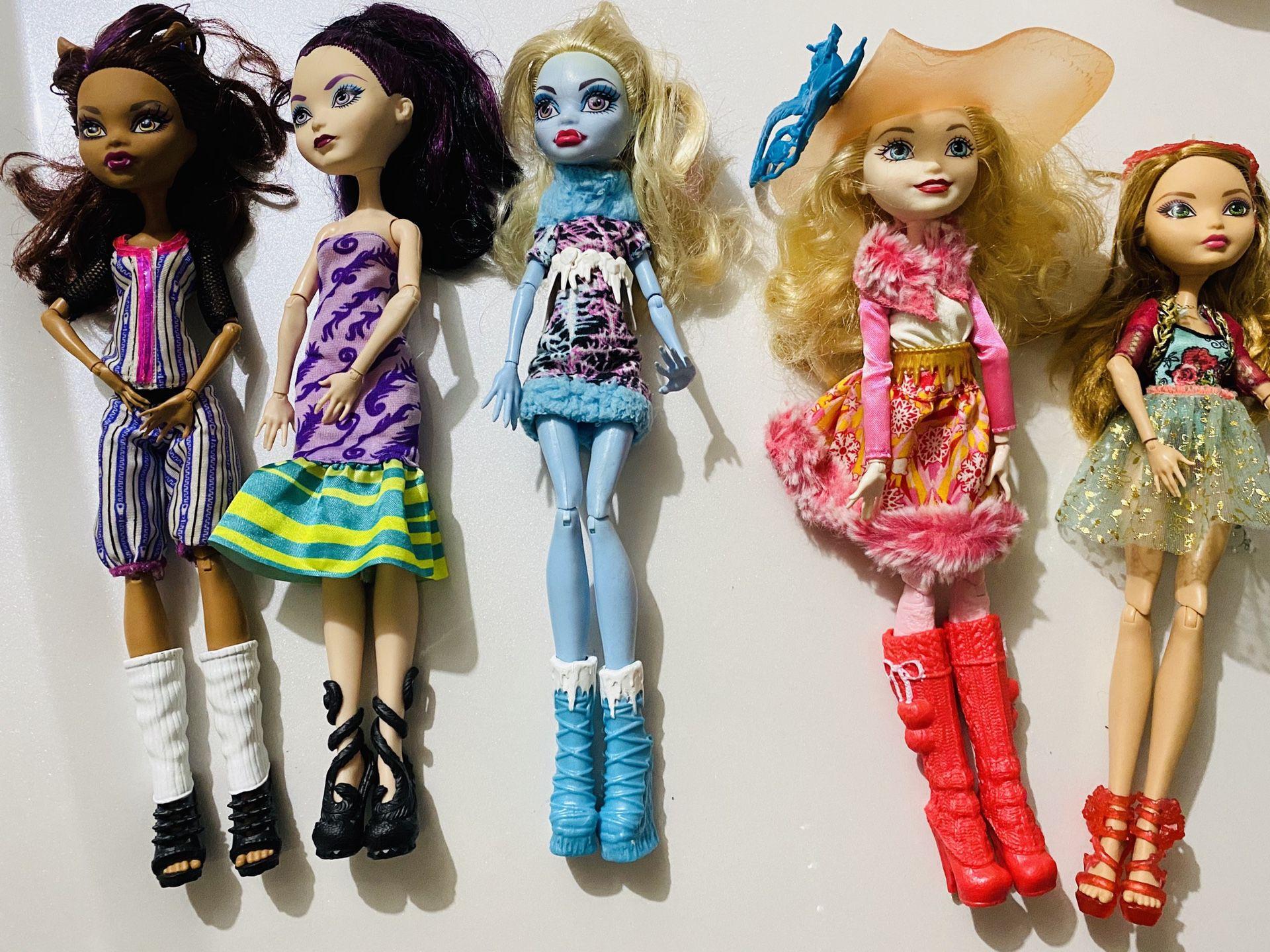 Monster High Doll $12 for one