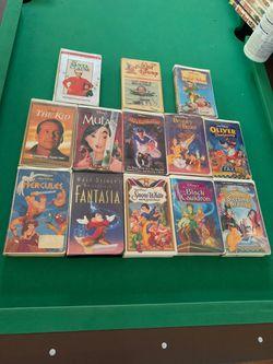Walt Disney Masterpiece Edition VHS Tapes!!! Thumbnail