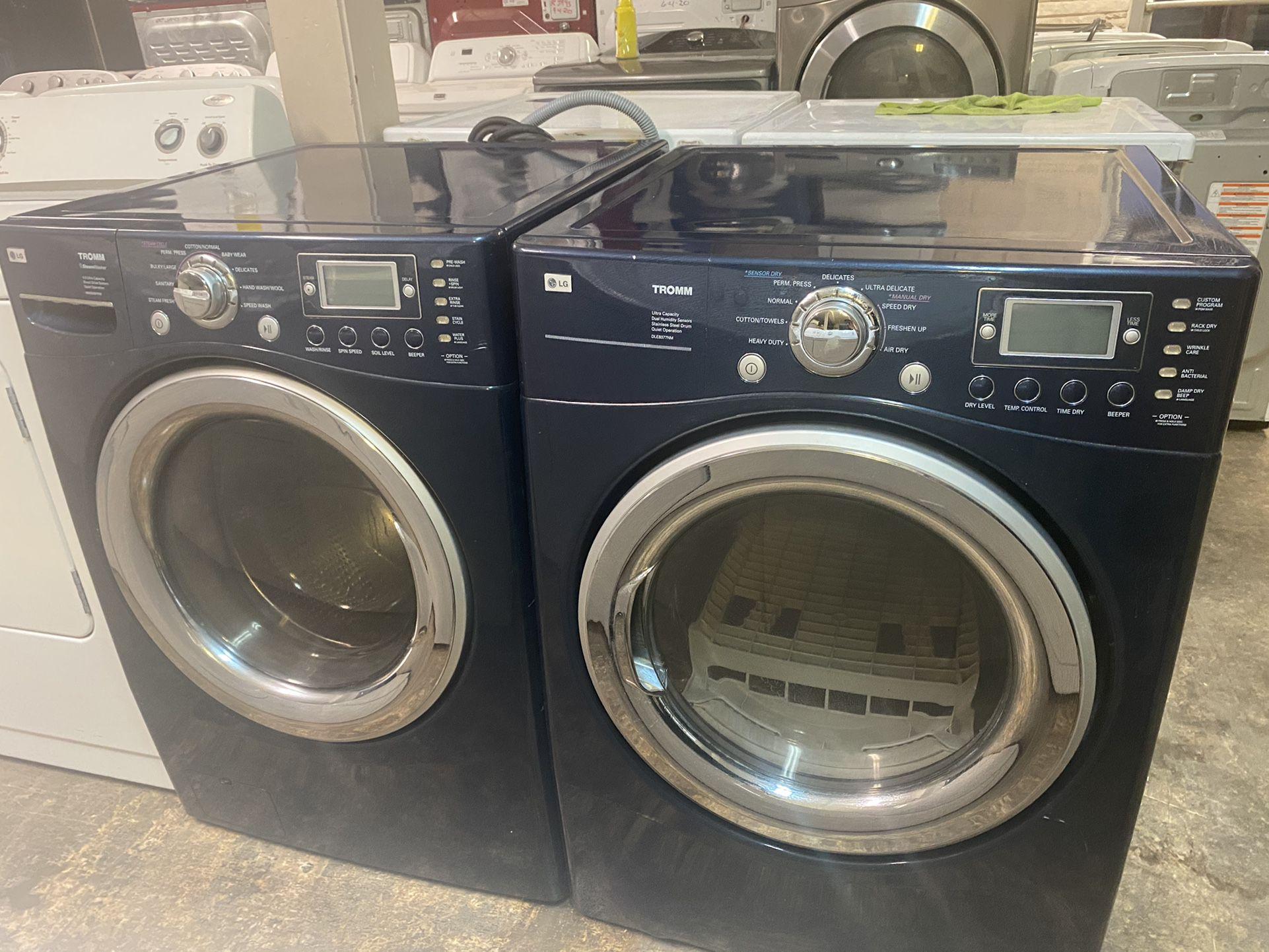 Lg Washer Dryer Set Heavy Duty Super Capacity
