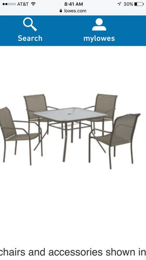 Outdoor Dining Patio Furniture Table And Chair Set For