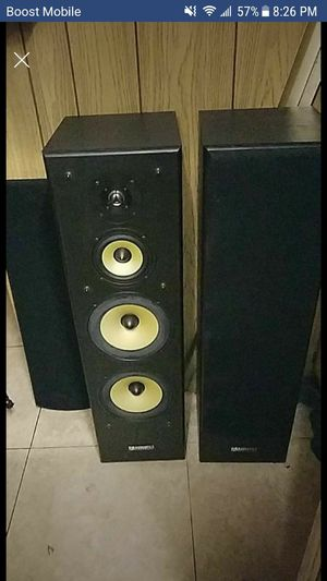 Audioline Tower Speakers For In Undefined