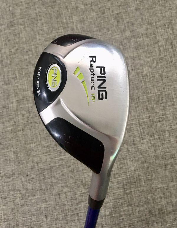 28ffacffef09 Ping hybrid  Callaway TaylorMade Nike Titleist Mizuno Cobra Golf Clubs  Putter Golf Balls