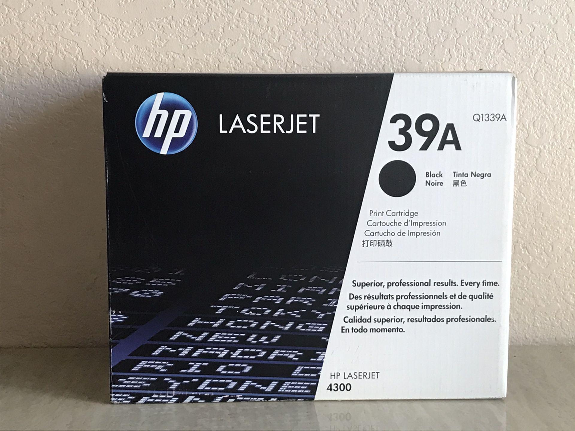 Original HP Sealed Black LaserJet Q1339A for 4300