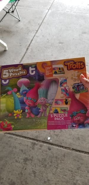 Puzzle for child 5 game. for Sale in Philadelphia, PA