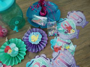Ariel Birthday Decorations For Sale In Vancouver WA