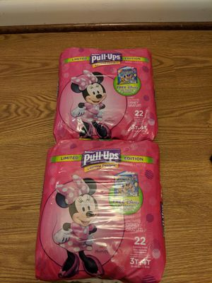 Pull ups size 3t-4t for Sale in Rockville, MD
