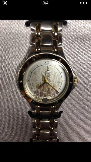Disney Fairytale Weddings Gold watch set for Sale in Charlotte, NC