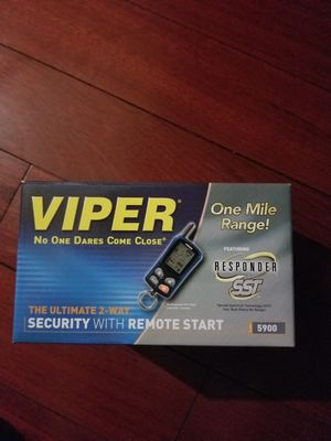 Viper Security with Remote Starter 1-mile for Sale in Chicago, IL