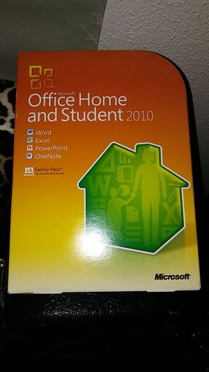 Office home and student 2010 for Sale in Tacoma, WA