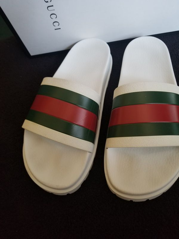 ff6f21459059 Authentic Mens Gucci Slides Size 11 for Sale in Redlands