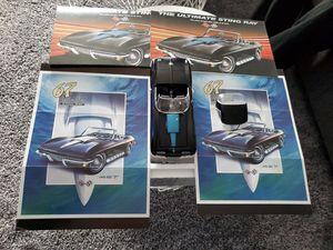 Photo Franklin Mint 1967 Corvette Sting Ray 427