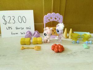Photo Littlest pet shop Horse race set