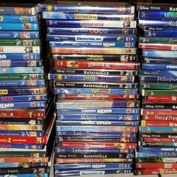124 Disney Dvds Classic Platinum Pixar RARE  Thumbnail