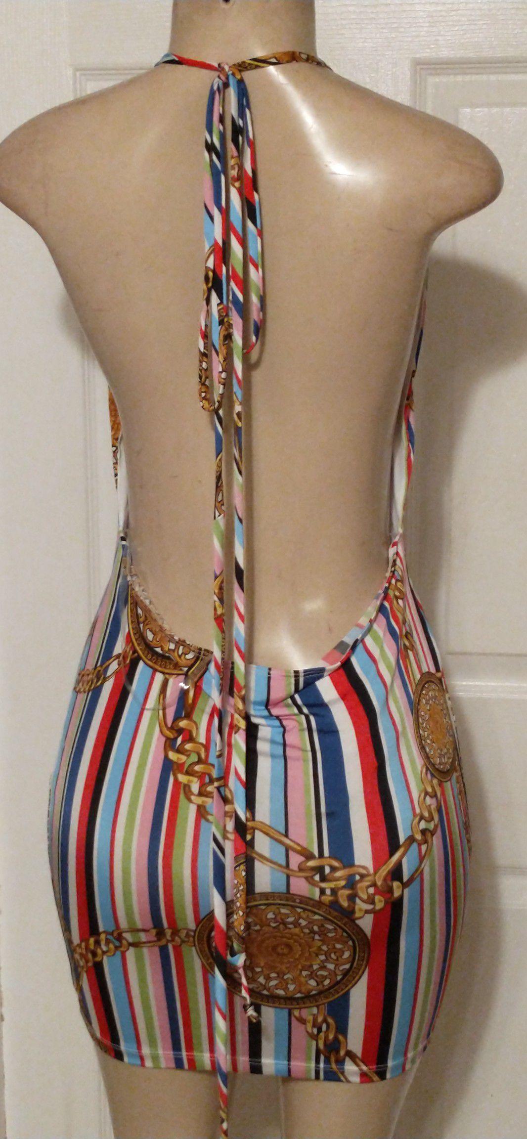 Codigo sexy halter dress