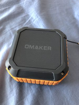 Omaker Omaker M4 Portable Bluetooth 4.0 Speaker with 12 Hour Playtime for Outdoors or Shower for Sale in Apex, NC