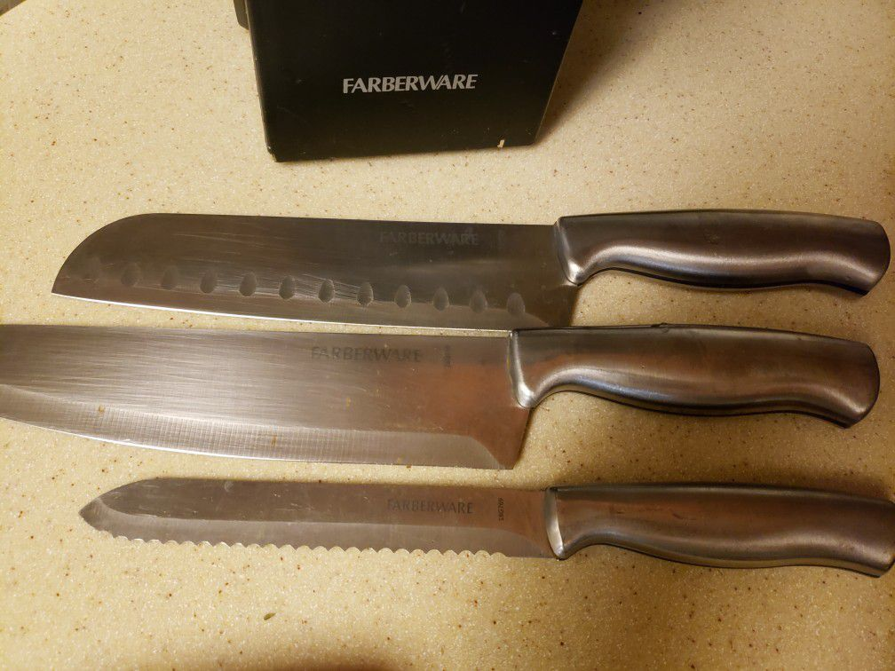 farberware knives set