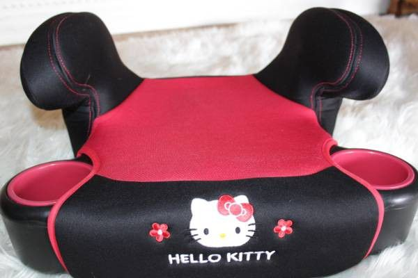 BABY TREND HELLO KITTY BACKLESS BOOSTER CAR SEAT Baby Kids In Tampa FL