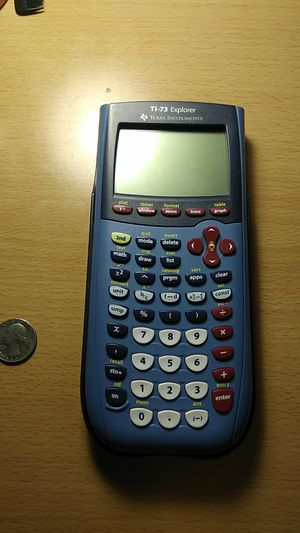 TI-73 Explorer Scientific and Graphing Calculator for Sale in Apex, NC
